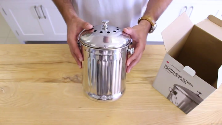 Preview image of Unboxing the Yuppiechef Countertop Compost Bin.mp4 video