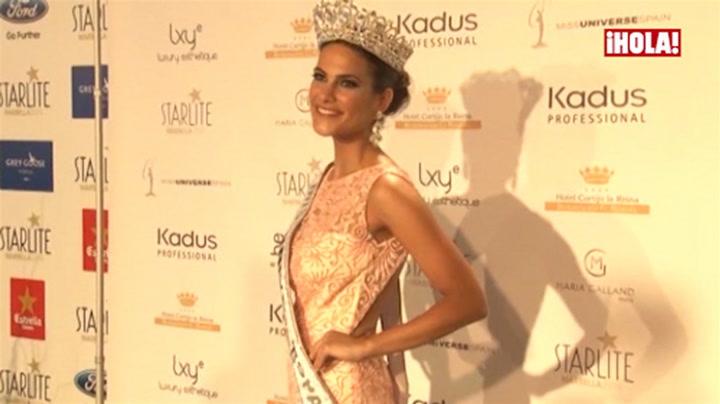Carla García, nueva Miss Universo España: \'Espero no defraudar\'