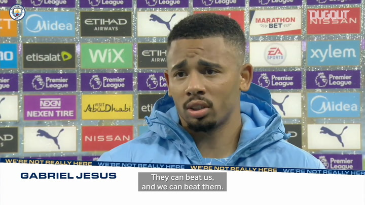 Gabriel Jesus: 'Draw better for Liverpool than Man City'