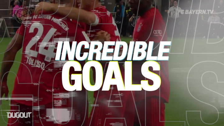 Incredible Goals: Robert Lewandowski Vs Real Madrid