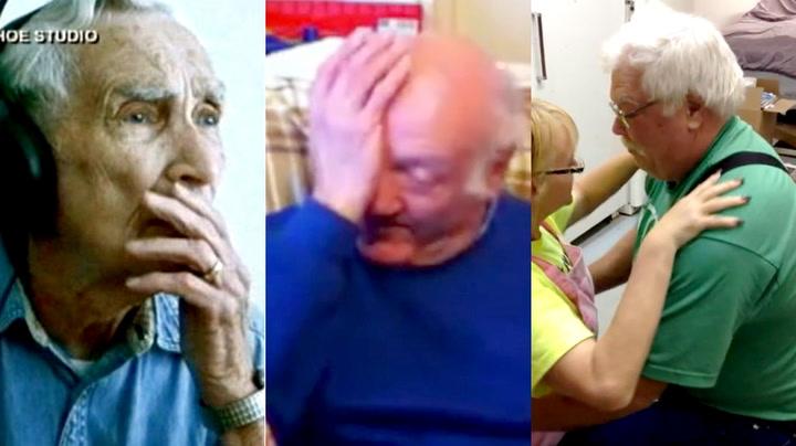 Tre gamle gubber som virkelig setter pris på kona