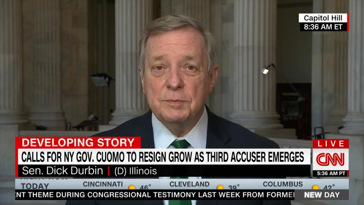 Durbin: There Should Be 'Credibility Given to the Charges' Against Cuomo