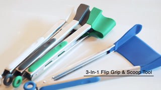 3-in-1 Grip Flip And Scoop Tool