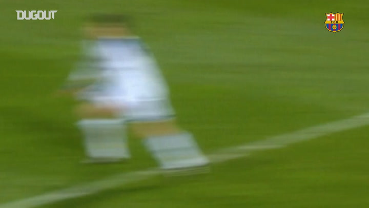 FC Barcelona's top five goals against Dynamo Kyiv