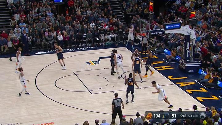 Las 10 mejores jugadas de la jornada de la NBA del 24 de febrero 2020