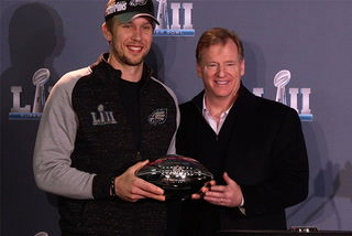Eagles QB Nick Foles says without failure, he might not have succeeded
