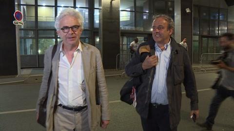 Michel Platini fue puesto en libertad luego de interrogado por Catar-2022