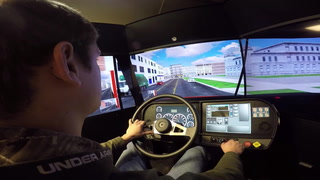 MTI's new mobile driving simulator