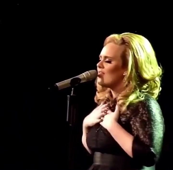 Así era Adele antes de su impresionante cambio físico