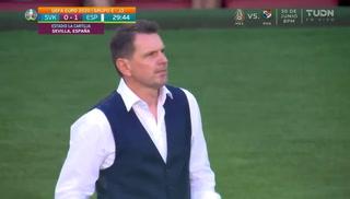 VIDEO: El insólito gol en contra del arquero eslovaco
