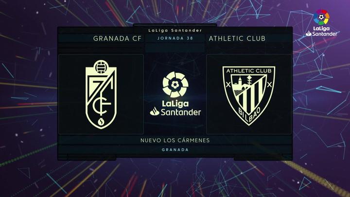 LaLiga (J38): Resumen y goles del Granada 4-0 Athletic