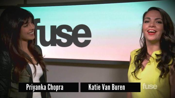 Interviews: Priyanka Chopra Dance Off