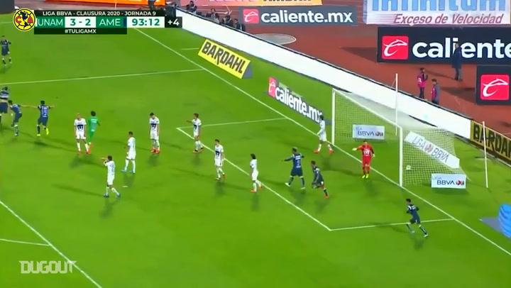 Henry Martín's last-minute goal punishes Pumas UNAM