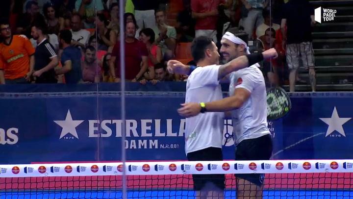 Resumen Semifinal Silingo/Allemandi Vs Gadea/Tapia Estrella Damm Valencia Open