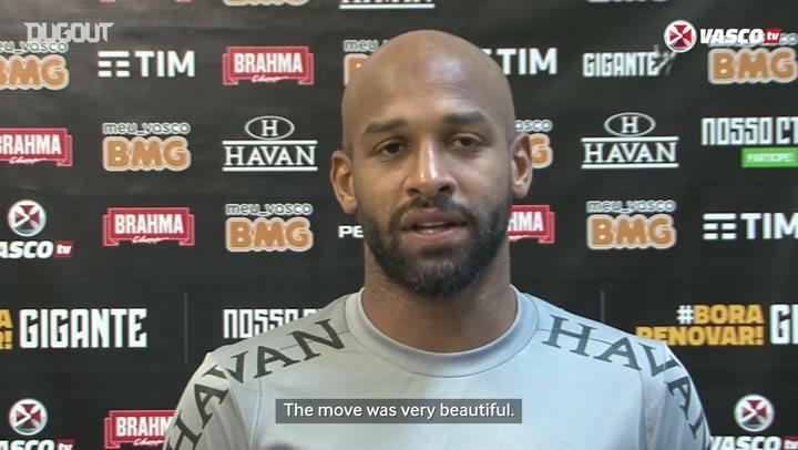 Fellipe Bastos talks about scoring twice in Porto Velho friendly