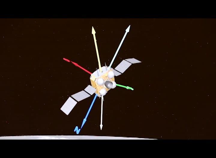 Nave espacial china despega de la Luna con muestras