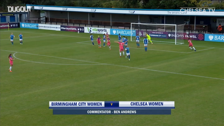 Fran Kirby earns all three points vs Birmingham