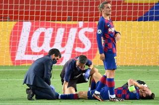Fuerte hematoma: Messi no se entrena con el Barcelona y tendrá 48 horas de reposo