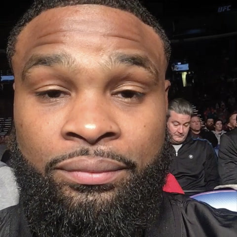 "Tyron ""The Chosen One"" Woodley Joins The Audience"