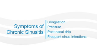 Dr. Joseph Raviv discusess symptoms and diagnosis of chronic sinusitis.