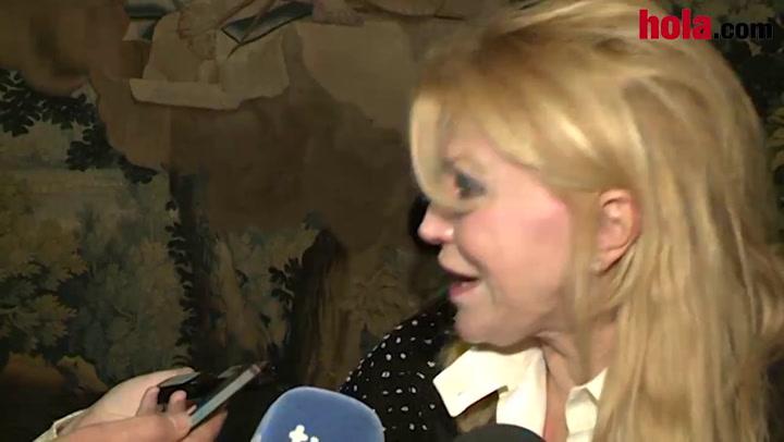 La Baronesa Thyssen: \'Leí en ¡HOLA! que a Blanca le gustó que visitara su exposición\'