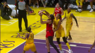Las Vegas Aces highlights vs. Los Angeles Sparks