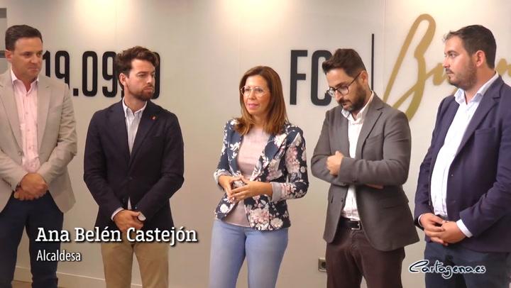 El partido entre el FC Cartagena y el Barça contará con una Fila 0 para recaudar fondos para los afectados por la DANA