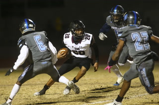 Faith Lutheran turns to run game in 48-35 comeback win over Canyon Springs