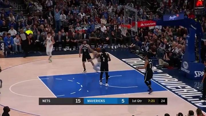 Luka Doncic (Mavericks), el más destacado de la jornada de la NBA del 2 de enero 2020