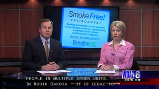 Devils Lake landlord honored for going tobacco-free