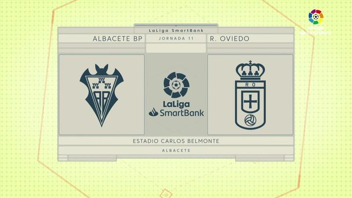 LaLiga SmartBank (J11): Resumen y goles del Albacete 1-2 Real Oviedo