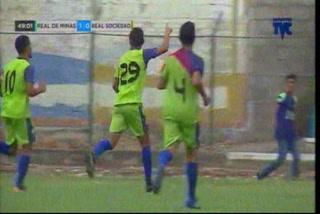 ¡Golazo! Juan Ramón Mejía marca el segundo para aumentar ventaja ante Real Sociedad