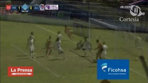 Vida 2-0 Olimpia (Liga Nacional)
