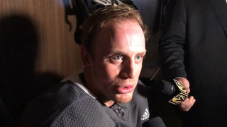 Nate Schmidt talks about his return after the morning skate