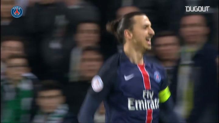 Zlatan Ibrahimović's incredible goal Vs Saint-Etienne in 2016