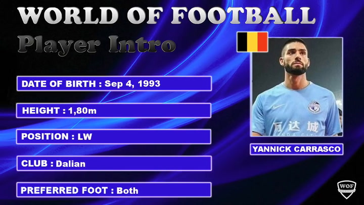 Los mejores goles de Yannick Carrasco en la liga china