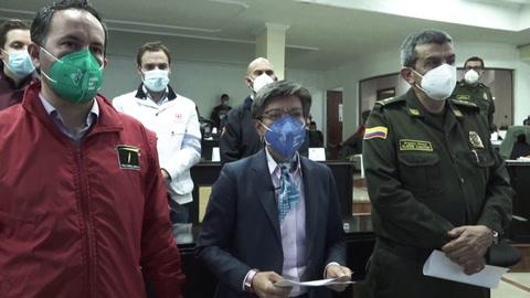 Alcaldesa de Bogotá lamenta jornada