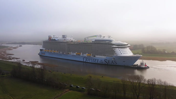 Video Of Odyssey Of The Seas Conveyance March 2021