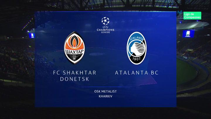 Champions League: Resumen y Goles del Shakhtar Donetsk - Atalanta