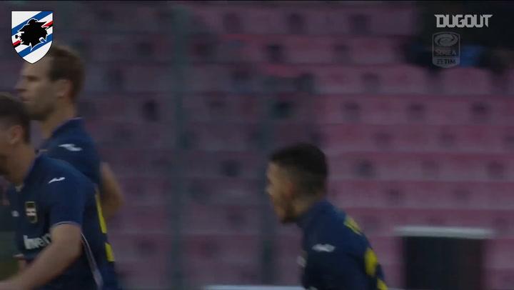 Sampdoria's best away goals vs Napoli