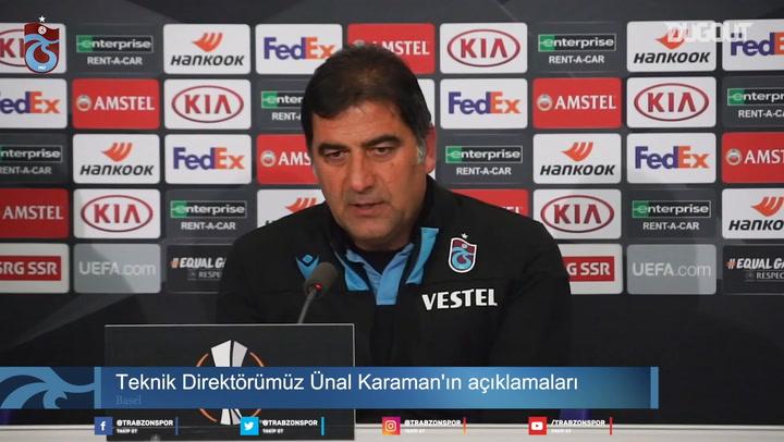 Ünal Karaman'ın Basel Mağlubiyeti Değerlendirmesi