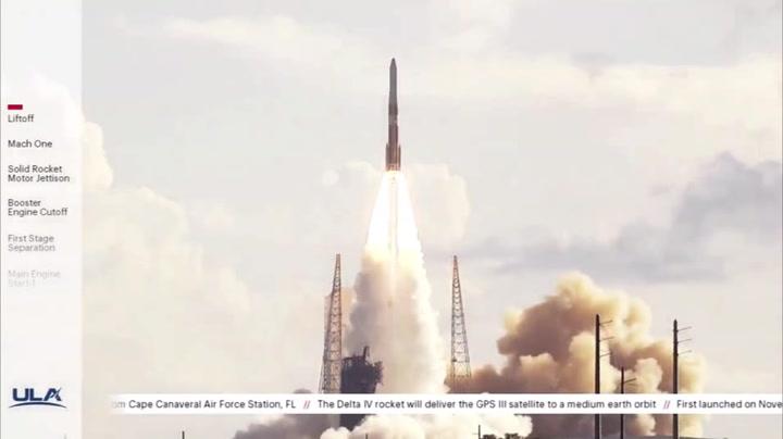 GPS III Satellite Launches Atop Last Delta IV Medium Rocket