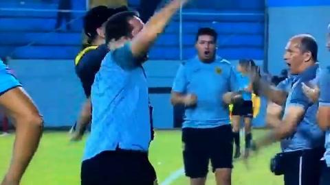 Mario Martínez pone a ganar a Real España ante Olimpia por la Copa Presidente