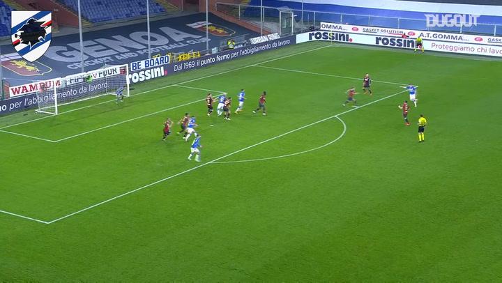 Jakub Jankto's stunner vs Genoa