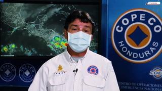 Frente frío estará generando lluvias y chubascos acompañados de actividad eléctrica en Honduras