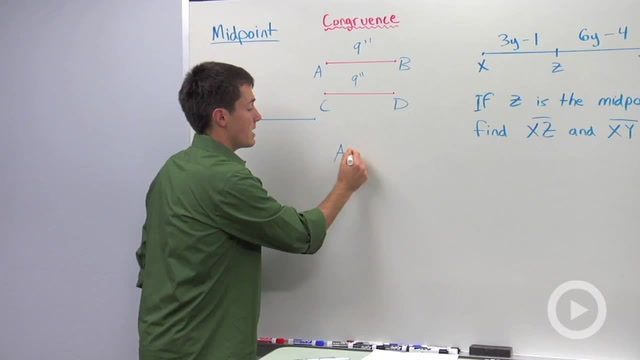Midpoints and Congruent Segments