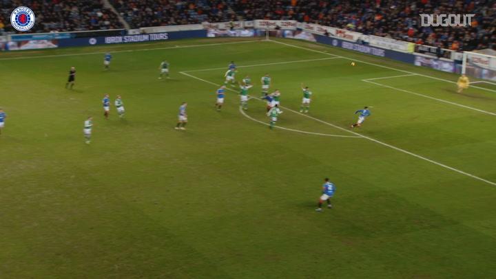 Ianis Hagi seals Rangers win over Hibs