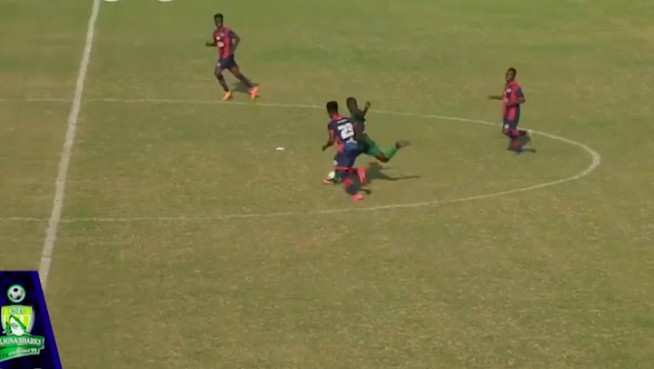 Stunning goal from centre circle in Ghana's top flight | News | Independent  TV