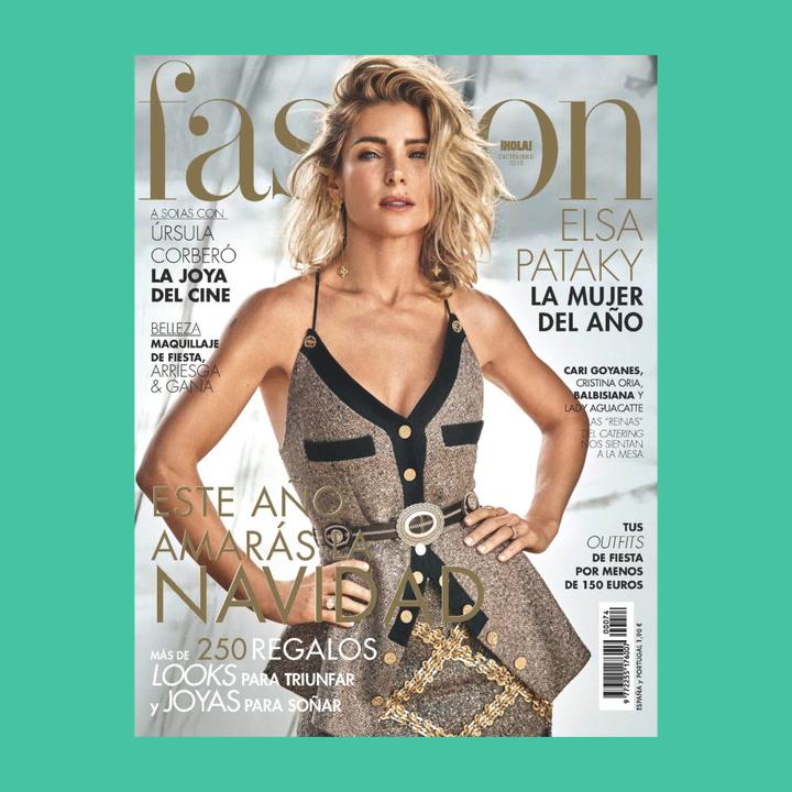 Elsa Pataky, la mujer del año, en el nuevo Fashion diciembre