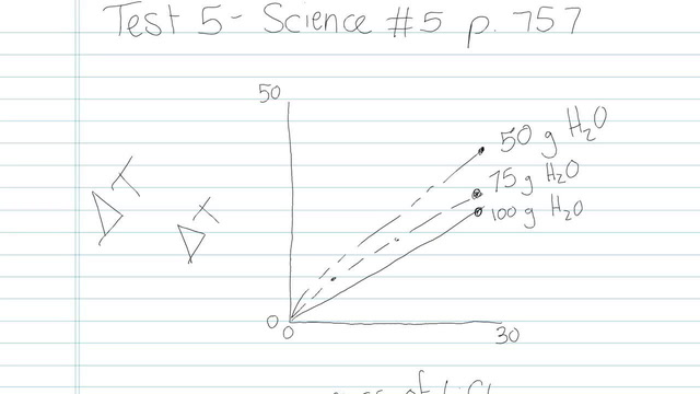 Test 5 - Science - Question 5